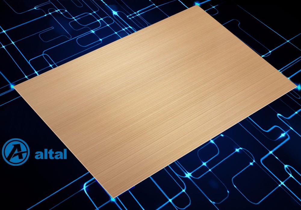 彩色阳极氧化拉丝铝板 D138T1R-301