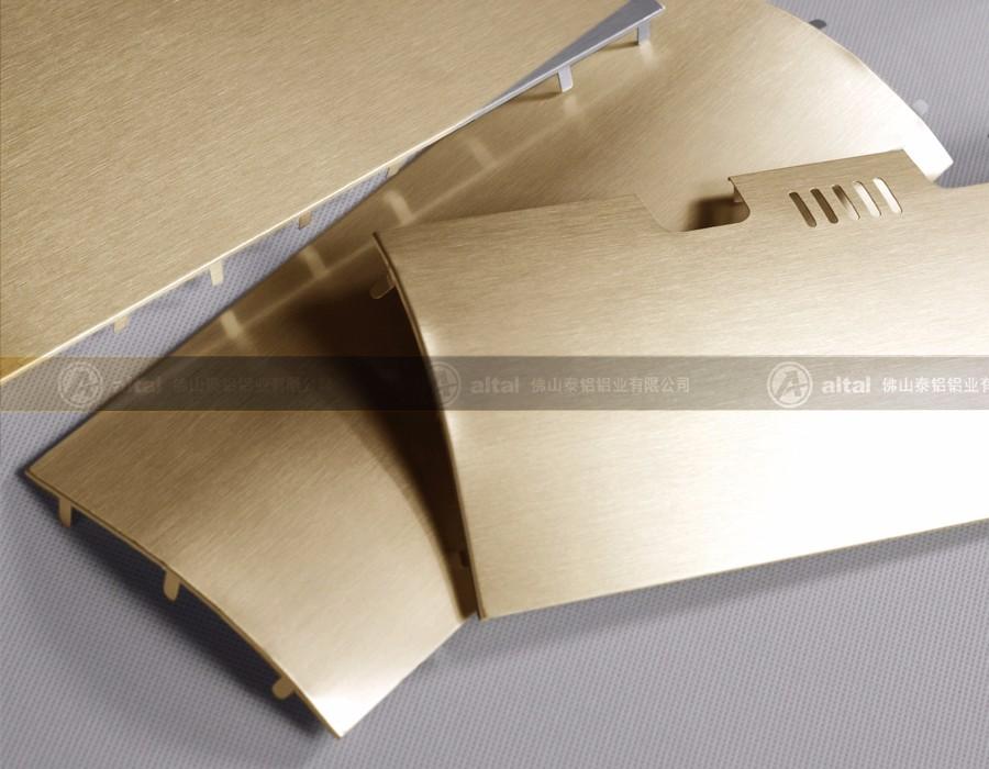 新品 亮面拉丝铝板 D316T2RB-52G
