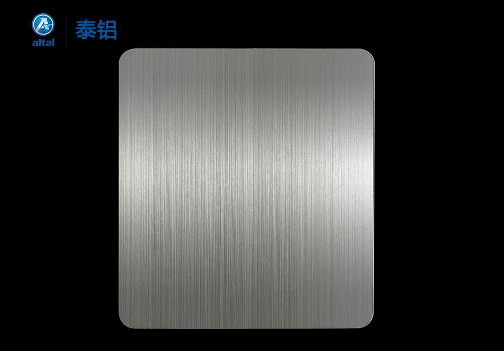 阳极氧化拉丝铝板 D318T1R-18