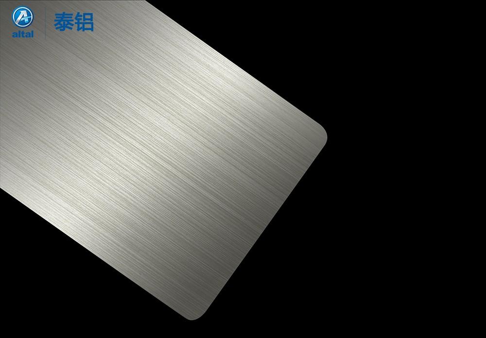 阳极氧化拉丝铝板 D318T1R-4028