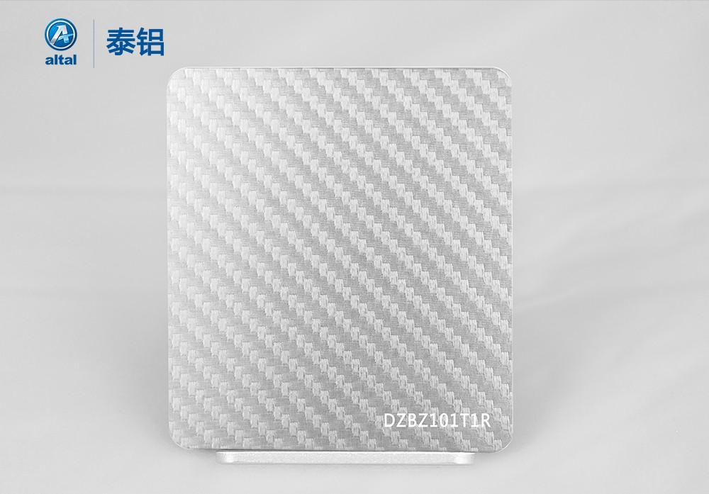 精轧压花铝板 DZBZ101T1R