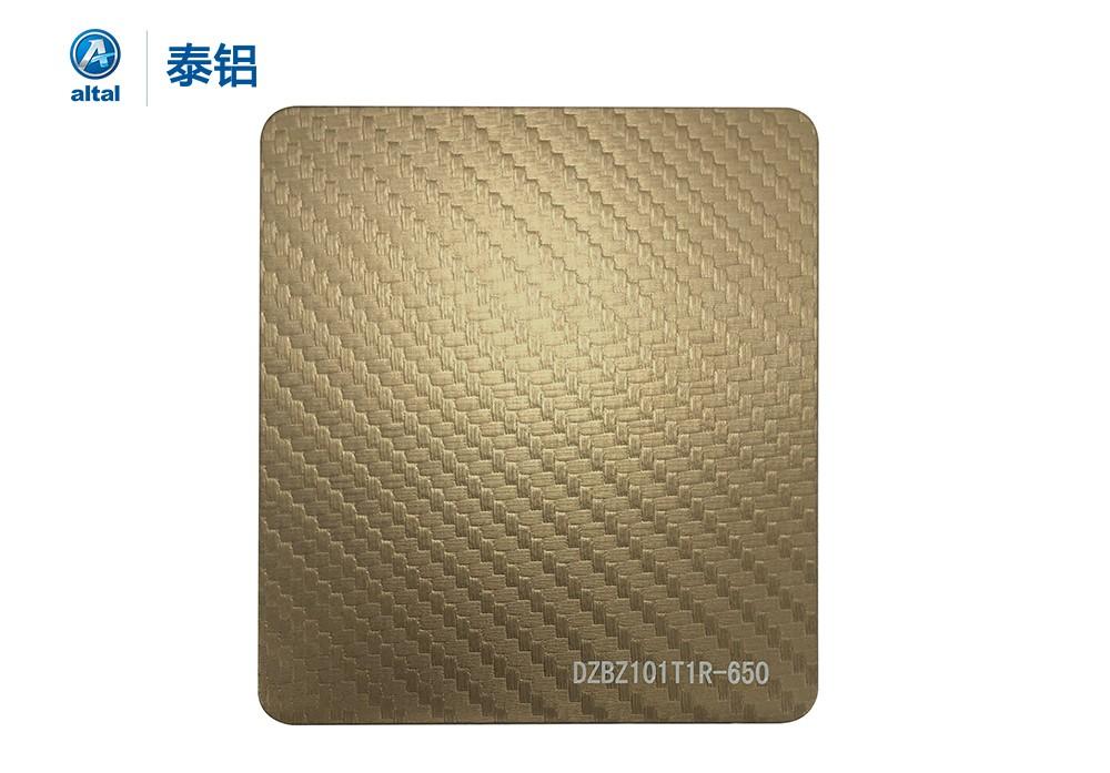 精轧压花铝板 DZBZ101T1R-650