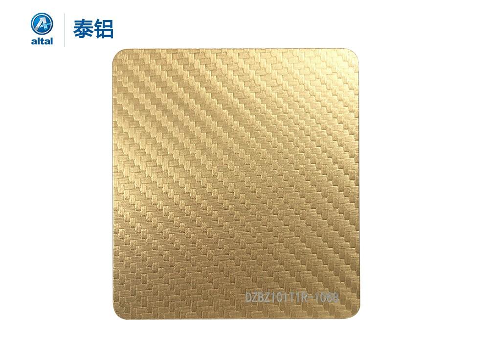 精轧压花铝板 DZBZ101T1R-1068