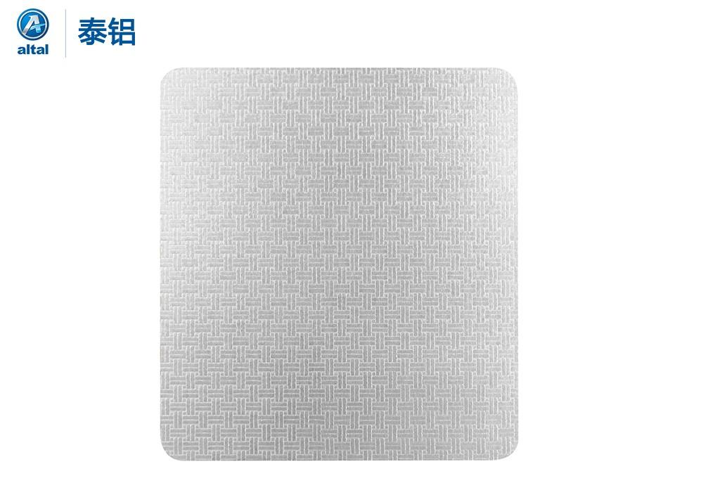 银色 压花铝板 DZBZ202T1R