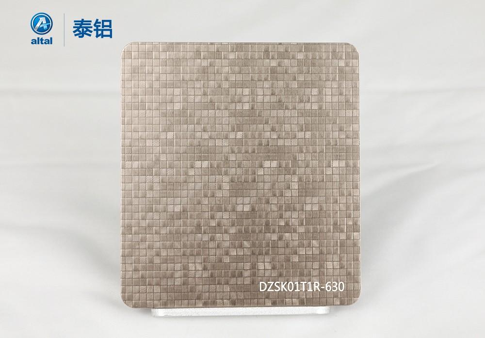 精轧压花铝板DZSK01T1R-630
