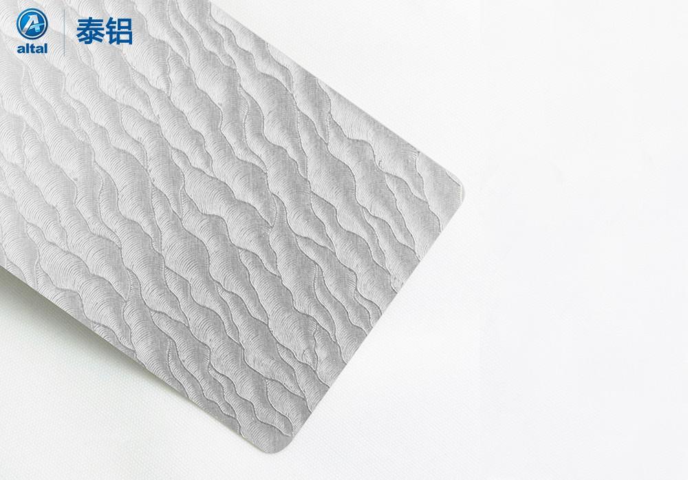祥云纹压花铝板DZPB01T1R