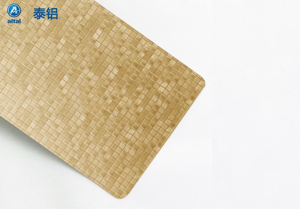 精轧压花铝板DZSK01T1R-1068