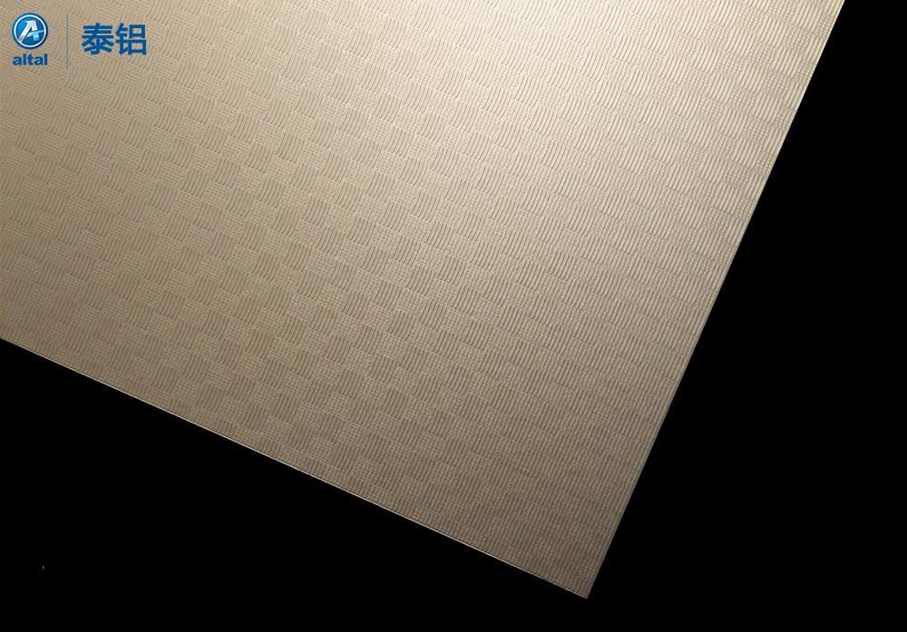 精轧压花铝板DZB70T1R-1068